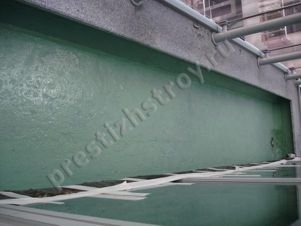 Мастичная гидроизоляция балконов.