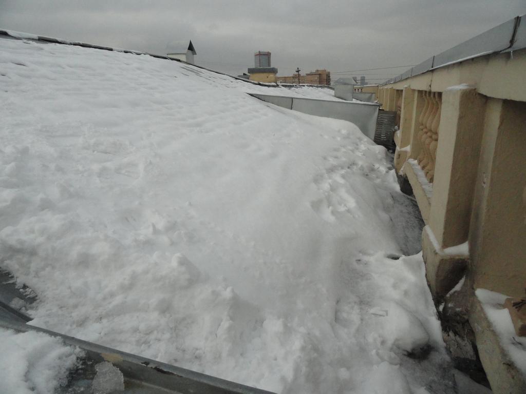 Смета по очистке крыши от снега